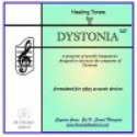 Dystonia CD for Vibro Acoustic Devices -Frequencies