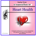 Heart Health CD for Headphones and/or Vibro Acoustic Device